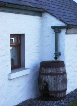 Rainwater catchment, Local materials in Ireland